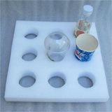 "PK-HOLDER-S1: Beverage Holder, Drink Cup, Avoid Liquid Food Spilling, 14"" L x 14"" W x 2"" H, Holds 9pcs"