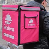 PK-65D: Takeaway food bags for Foodora with high heat preservation, keep hot, 16